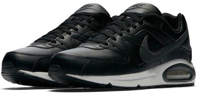 new arrival 9b7e9 9057f Nike Air Max Command Leder Sneaker schwarz/grau für 84,90€…