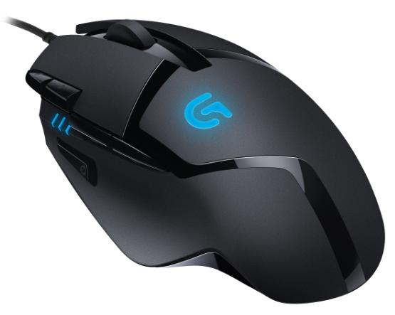 Wieder da! Logitech G402 Hyperion Fury Ultra-Fast FPS Gaming Mouse für 22€
