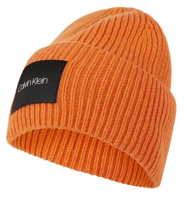 Calvin Klein Beanie in Orange für 12,99€inkl. Versand (statt 40€)