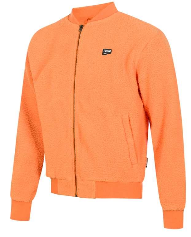 Puma Downtown Herren Sherpa Jacke in Orange für 39,94€ inkl. Versand (statt 50€)