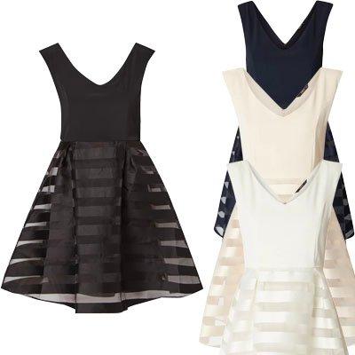 Only Kleid mit Rockteil aus Organza für 13,49€ inkl. Versand (statt 34,99€)
