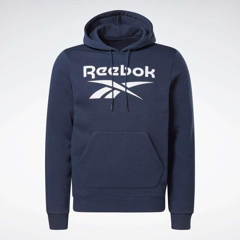 Reebok Identity Fleece Hoodie in Dunkelblau für 25,02€ inkl. Versand (statt 39€)