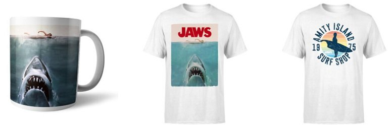 JAWS Bundle T-Shirt + Tasse 2