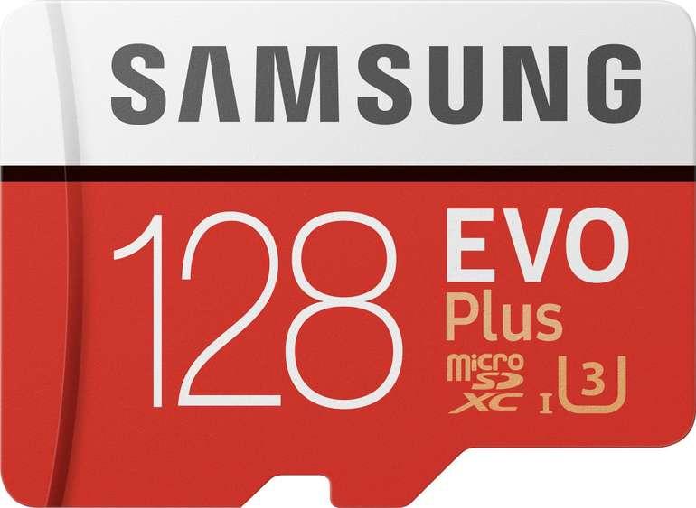 Samsung EVO Plus 2020 microSD mit 128 GB für 13,95€ inkl. Versand (statt 19€)