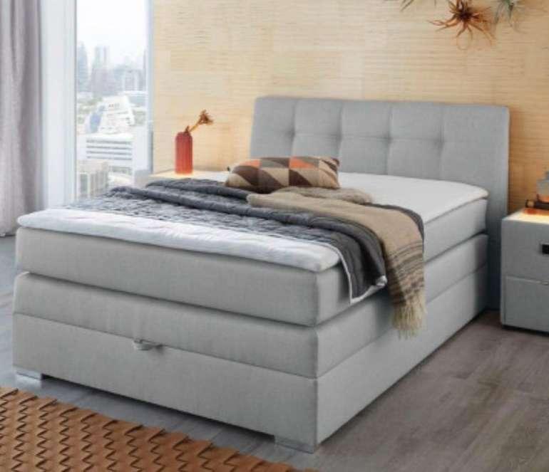 20% Rabatt auf (fast) alle Möbel bei Poco - z.B. Hellgraues 140 cm Boxspringbett für 639,99€ (statt 799€)