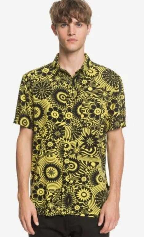 Quiksilver Private Sales: 40% Rabatt auf die Sommerkollektion + Gratis Versand z.B Hemd Fluid Geo für 35,99€