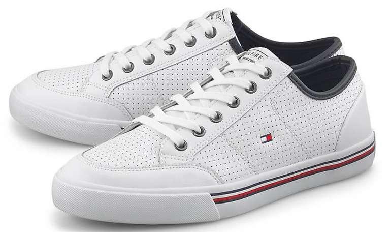 Tommy Hilfiger Sneaker Corporate in Weiß für 55,98€inkl. Versand (statt 70€)