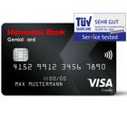Gebührenfreie Hanseatic GenialCard (schwarze VISA Karte) + 30€ Startguthaben