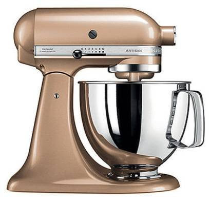 KitchenAid Artisan 5KSM125E Küchenmaschine + 4,8l Edelstahlschüssel für 296,10€