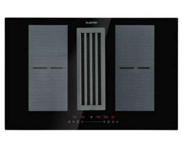 Klarstein Full House Down Air System (Induktionsherd mit integrierter Dunstabzugshaube) für 699,99€ (statt 747€)