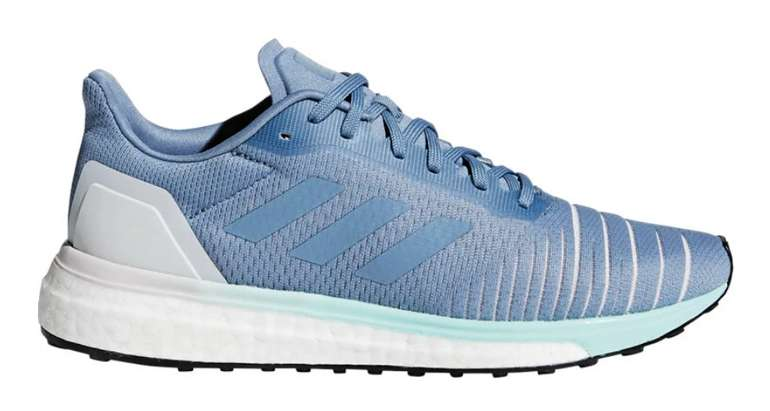 Adidas Solar Drive Frauen Laufschuh in blau für 40,94€ inkl. Versand (statt 70€)