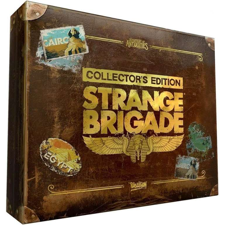 Strange Brigade Collector's Edition (PS4) für 19,90€ inkl. VSK (statt 33€)