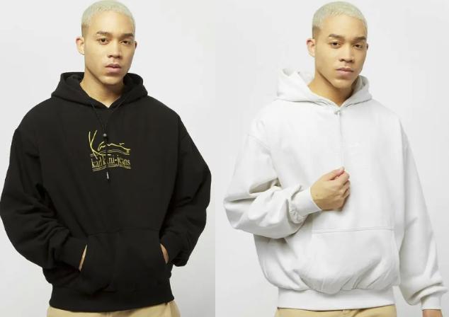 Karl Kani Signature KKJ Oversize Hoodie in schwarz oder weiß für 43,99€inkl. Versand (statt 70€)