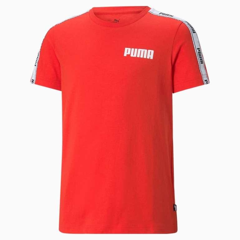Puma Tape Jugend T-Shirt in 2 Farben für je 11,20€ inkl. Versand (statt 15€)