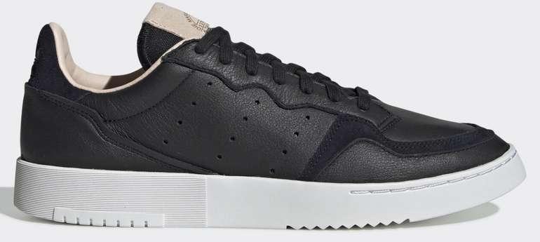 adidas Originals Supercourt Sneaker in schwarz für 43,80€inkl. Versand (statt 50€)