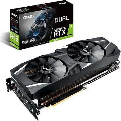 Asus Dual GeForce RTX 2080 Advanced 8GB GDDR6 Grafikkarte für 599,99€