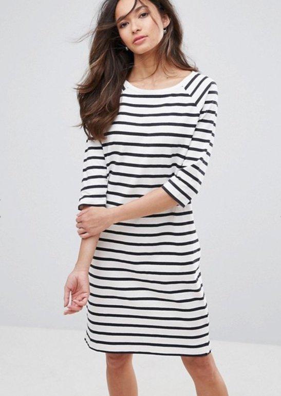 Asos Flash Sale: bis zu 60% auf Kleider z.B. gestreiftes Etuikleid für 13,99€
