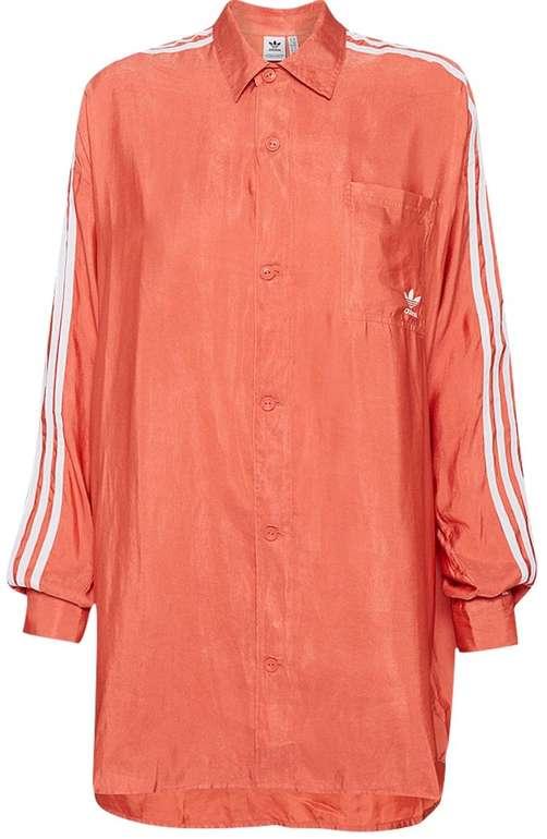 Adidas Originals Satin Button Up Damen Hemd für 23,94€ inkl. Versand (statt 30€) - in 34 und 46!