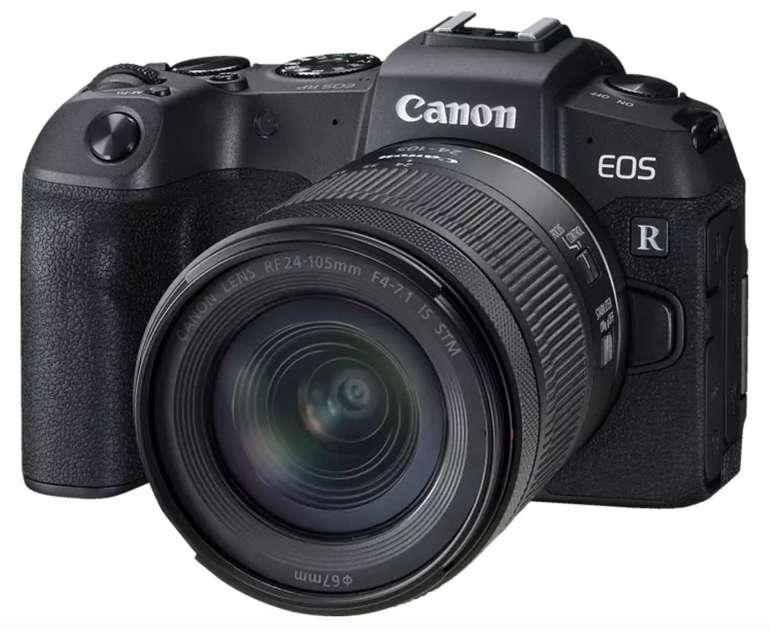 Canon EOS RP Kit Systemkamera mit 26.2 Megapixel und Objektiv (24-105 mm) für 1.101€ (statt 1.366€)