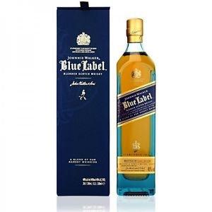 Johnnie Walker Blue Label 0,7L + Geschenkverpackung für 59,99€ (statt 117€)
