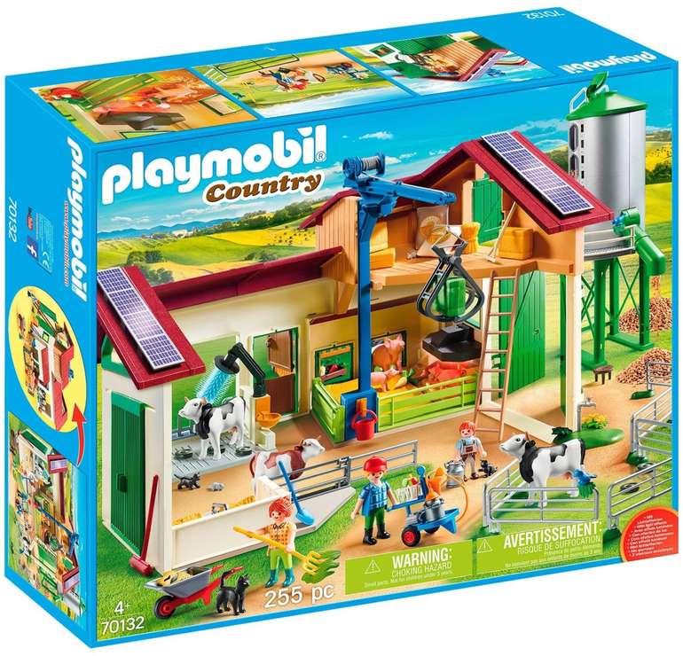 Playmobil Country - Großer Bauernhof mit Silo (70132) für 49,95€ inkl. Versand (statt 66€)