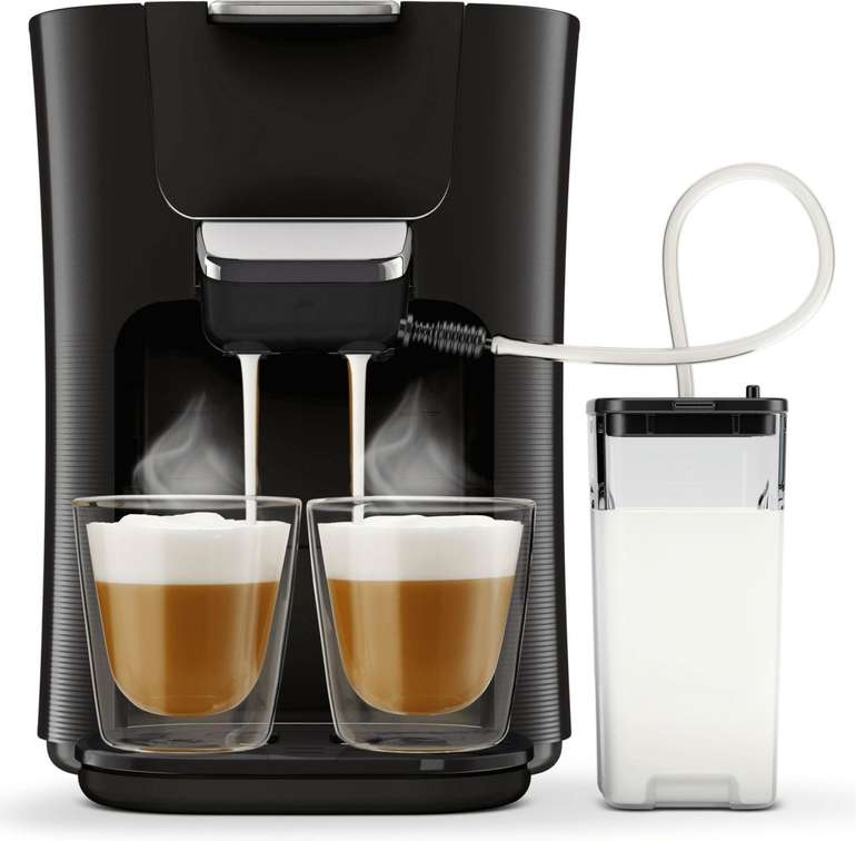 Philips Kaffeepadmaschine Senseo Latte Duo Plus HD6570/60 für 129,99€ inkl. Versand