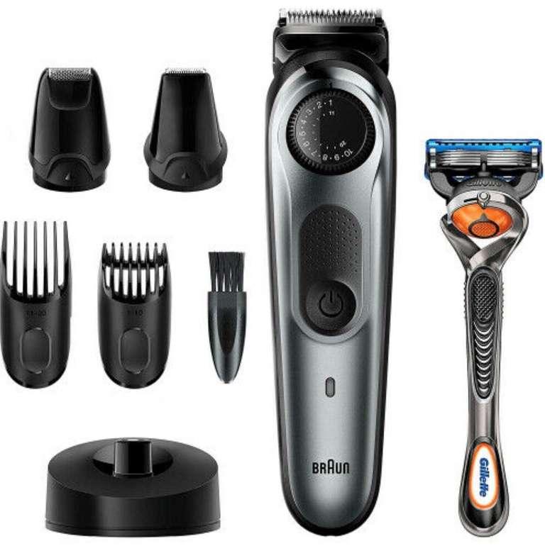 Braun BT 7240 Herren Barttrimmer und Haarschneider für 46,99€ inkl. Versand (statt 56€)