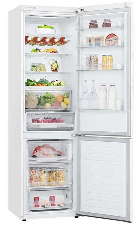 LG Kühl Gefrierkombination Kühlschrank NoFrost Premium in Weiß für 444€ inkl. Versand (statt 580€)
