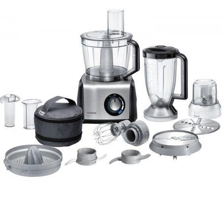 Siemens Küchenmaschine MK 860 FQ 1 (1250 Watt, 45 Funktionen) für 148,99€