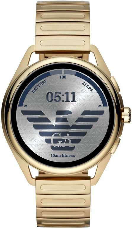 """Emporio Armani Connected Herren Smartwatch """"Matteo"""" in Gold für 249€ inkl. Versand (statt 360€)"""