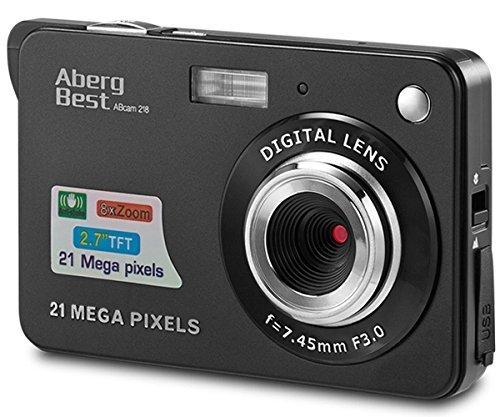 "AbergBest 21 Megapixel Digitalkamera (2,7"" TFT LCD Display) für 29,99€ (Prime)"