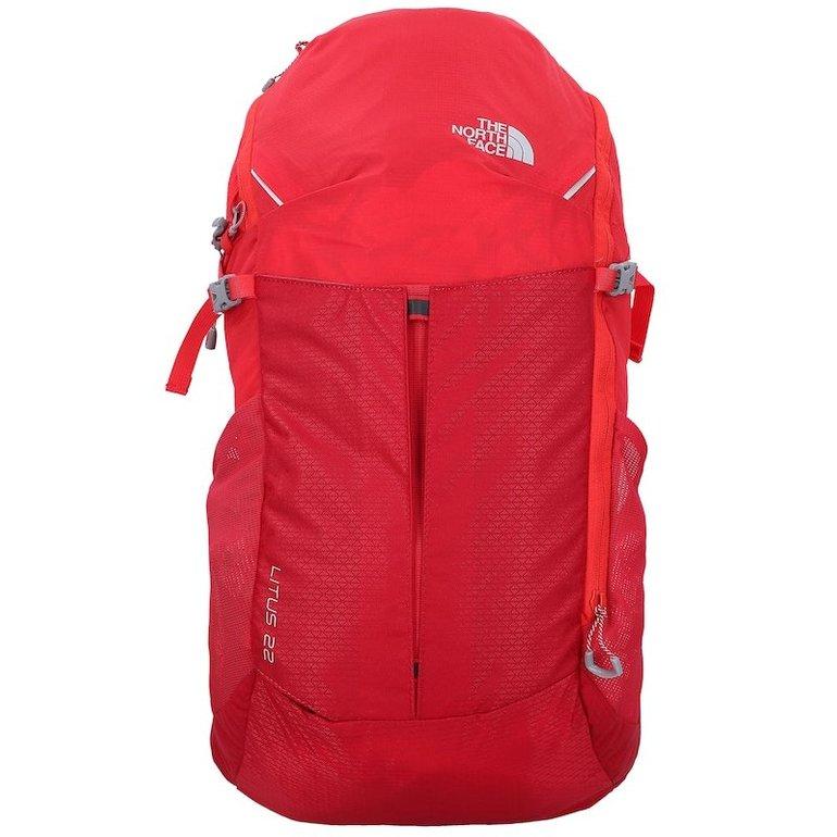 The North Face Rucksack 'Litus 22-RC' in rot für 60,86€ inkl. Versand (statt 77€)