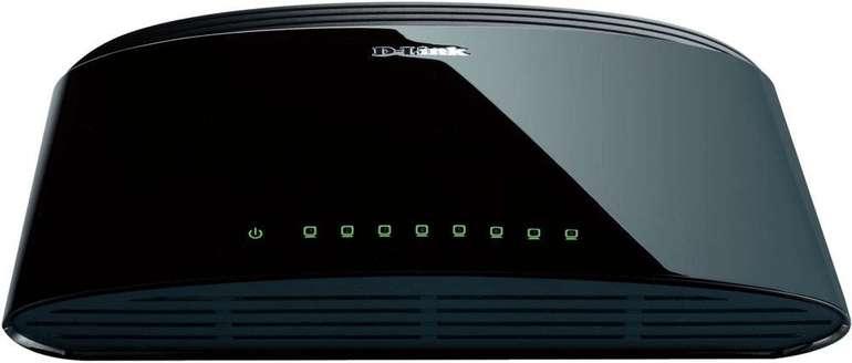 D-Link Desktop Switch DES 1008 mit 8 Ports für 4,99€ (statt 10€)