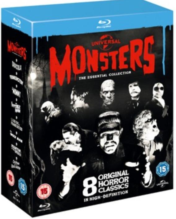 Universal Monsters: The Essential Collection Blu-ray für 12,94€ (statt 26,18€)
