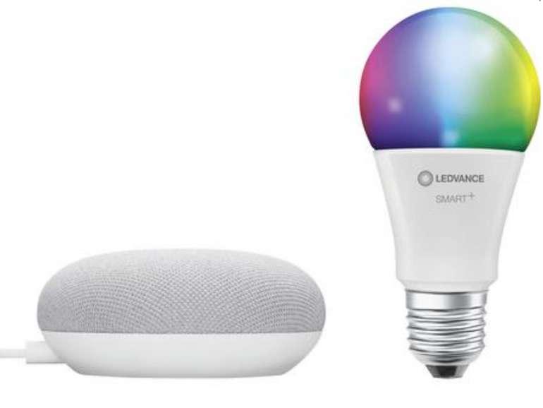 Ledvance Smart+ Starterkit Beleuchtung (E27, 10W, EEK: A, RGBW) für 22€ inkl. Versand (statt 50€)