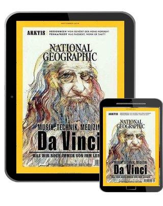 National Geographic e-Paper Jahresabonnement mit 12 Ausgaben für 49,96€ + 45€ BestChoice Gutschein