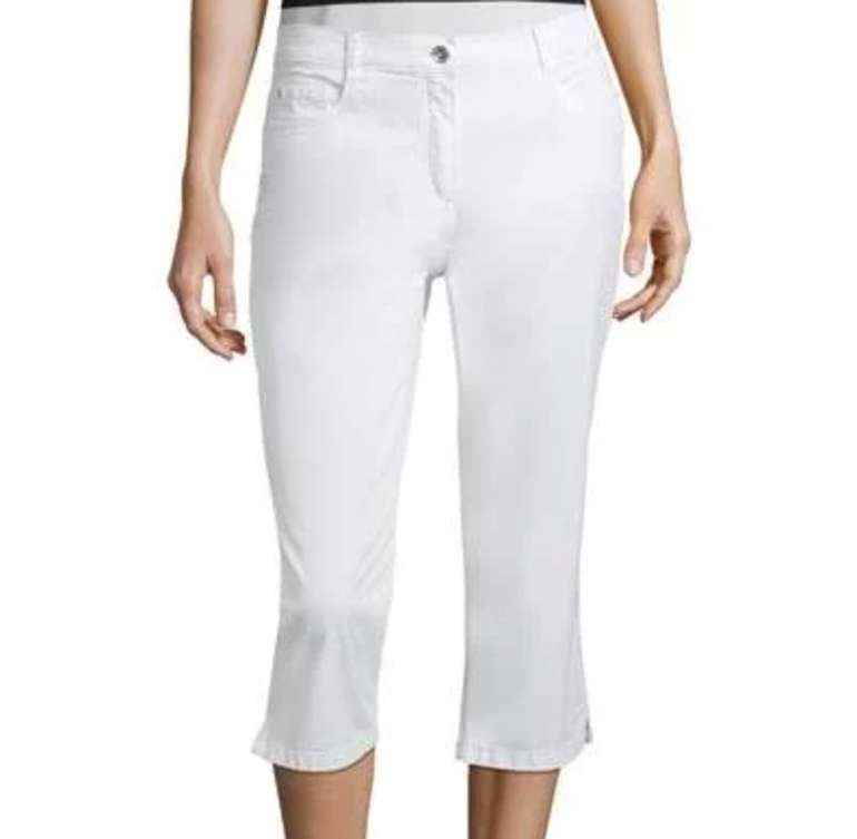 Betty Barclay Slim Fit Damen Sommerhose (97% Baumwolle, 3% Elasthan) für 24,99€ (statt 36€)