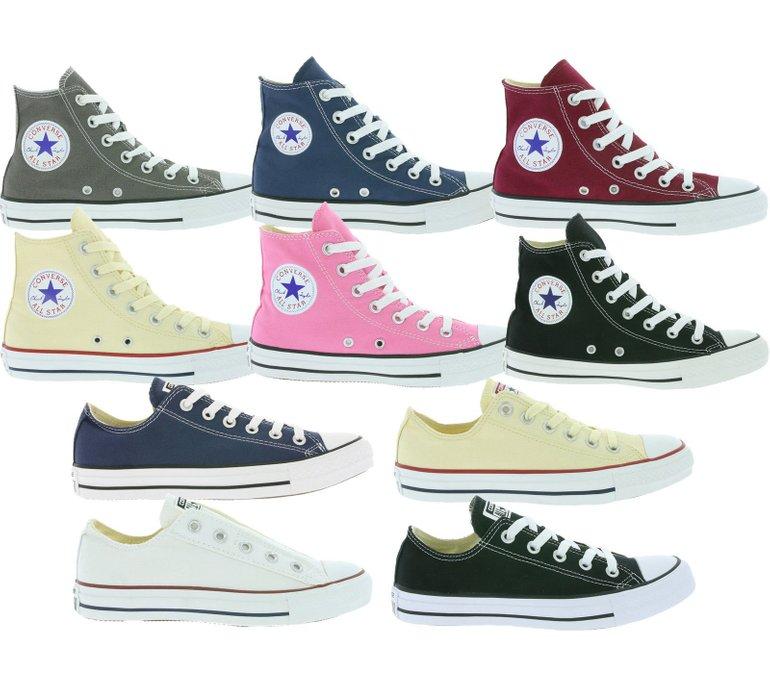 Converse All Star Chuck Taylor Sneaker (versch. Modelle) für je…