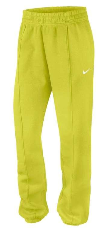Nike Sportswear Essential Collection Damen Fleece-Hose in Gelb für 31,97€ inkl. Versand (statt 41€)