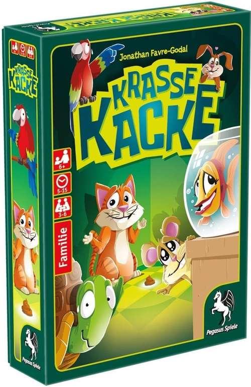 Pegasus Spiele Kartenspiel Krasse Kacke (18320G) für 5,49€ inkl. Prime Versand (statt 9€)