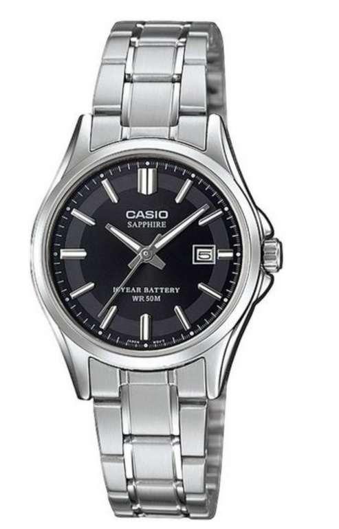 """Casio Collection Damen Quarzuhr """"LTS-100D-1AVEF"""" für 38,85€ inkl. Versand (statt 55€)"""