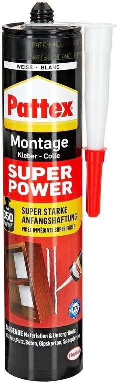 Pattex Montagekleber Super Power mit 370g für 4,25€ inkl. Prime Versand (statt 13€)