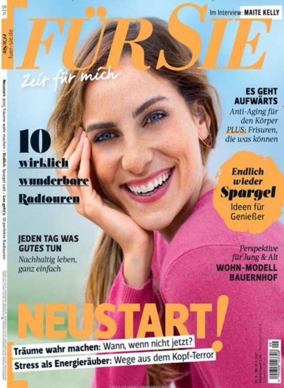"""Jahresabo """"Für Sie"""" mit 24 Ausgaben für 85€ + z.B. 85€ Douglas, Zalando oder Bestchoice Gutschein"""
