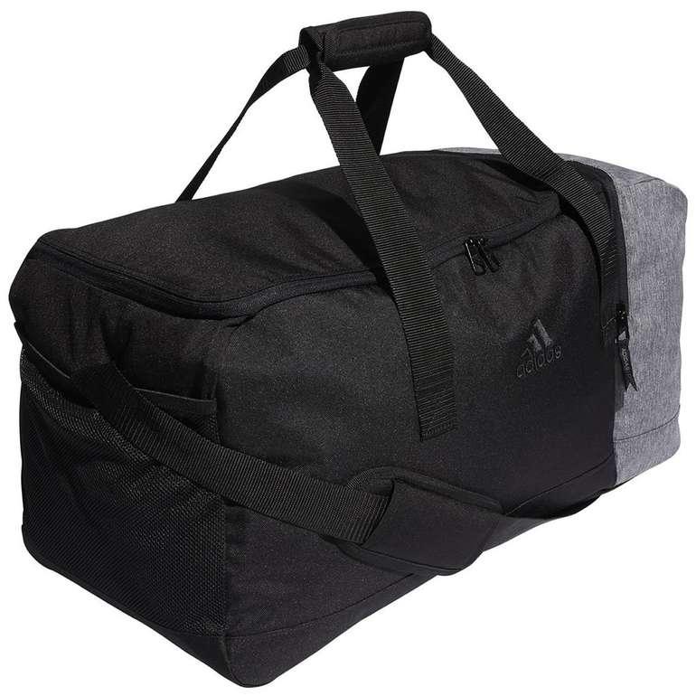 Adidas Duffle Bag Sporttasche in Schwarz/Grau mit 51,5 Liter Volumen für 29,95€ inkl. Versand (statt 40€)