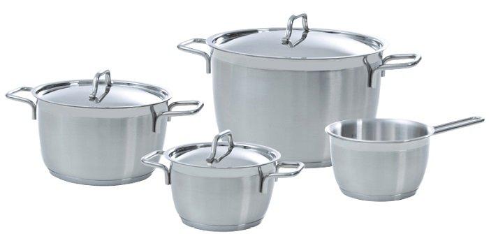 BK Cookware 4-tlg.  Blue Label Topfset für 65€ inkl. Versandkosten