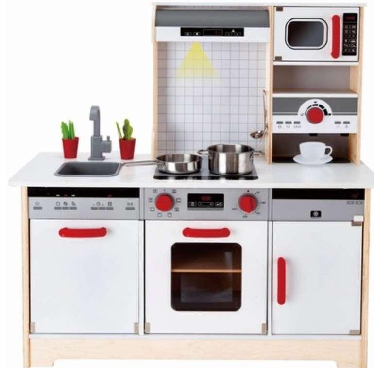 Hape Kinderküche mit Zubehör bzw. Multifunktionale Spielküche (E3145) für 109€ (statt 133€)