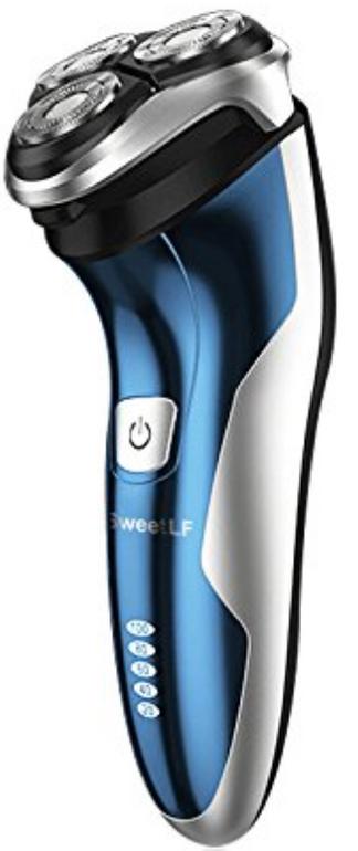 SweetLF Elektrischer Herren-Rasierer (nass & trocken) für 22,39€ inkl. Versand