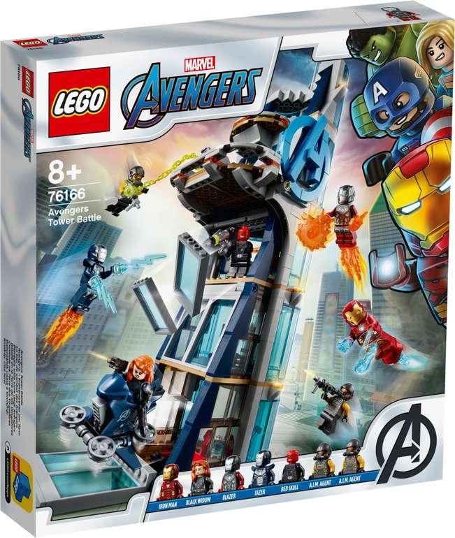 Lego Marvel Avengers 76166 - Kräftemessen am Turm für 58,44€ inkl. Versand (statt 70€)