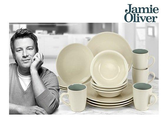 Jamie Oliver 16-teiliges Tafelgeschirr-Set für 25,90€ inkl. VSK (statt 60€)