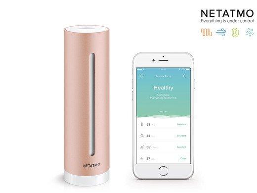 Netatmo Healthy Home Coach (misst Luft, Temperatur und Lärm bei euch Zuhause) für 65,90€